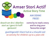 Amser Stori Actif | Welsh Active Story Time